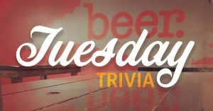 Tuesday Trivia @ Asheboro B&C