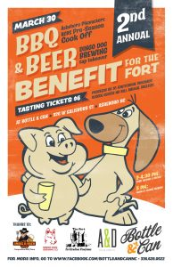 Dingo Dog Tap Takeover & BBQ Cook Off Benefit for The Fort