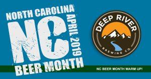 PRE NC Beer Month: Tasting w/ Deep River Brewing