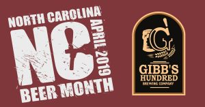NC Beer Month: Tasting w/ Gibb's Hundred Brewing Co.